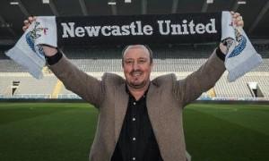 Rafa joins the Tyneside madness!