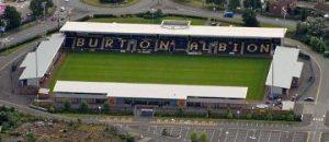 Burton Albion's Pirelli Stadium.