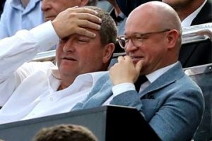 Mike Ashley and Lee Charnley.