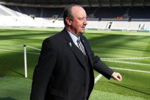Rafa Benitez at SJP.