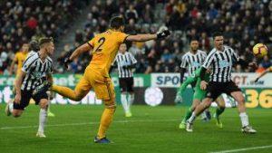 Newcastle vs Wolves.