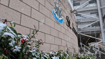 St James' Park at Christmas